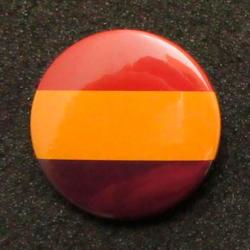 Chapa Bandera República Española