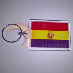 Llavero bandera de España 2ª República
