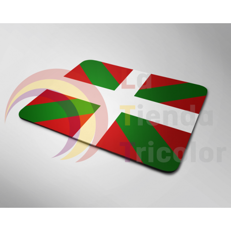 Alfombrilla de Ratón - Bandera Ikurriña - Nación Vasca