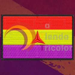 Parche Bandera 2ª Republica Brigadas Internacionales