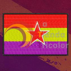Parche Bandera 2ª Republica Ejercito Popular