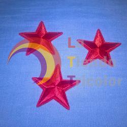 Parche Estrella Roja 4,2 cm