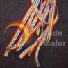 Pulsera Bandera LGBT (LGTB) - Cinta arcoiris 10 mm