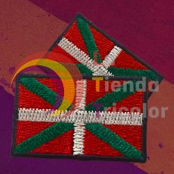 Parche Bandera Euskadi - Ikurriña Pais Vasco
