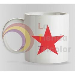 Taza Estrella Roja