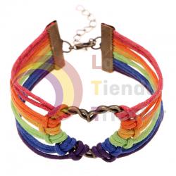 Pulsera Corazón Arcoiris - LGTB - LGBT Orgulllo